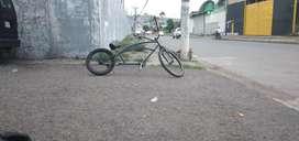 Bicicleta estilo antiguo