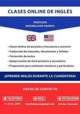 Clases De Inglés Online - Aprende Rápido Y Fácil!