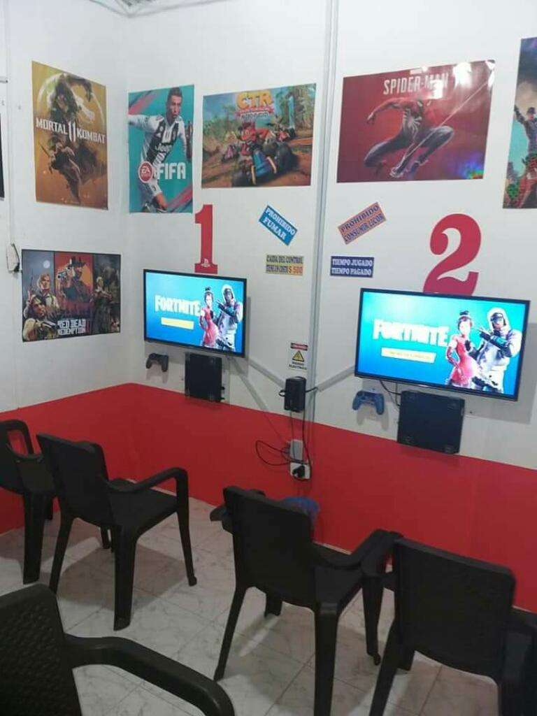 Vendo o permuto Sala de Videojuegos Ps4 0