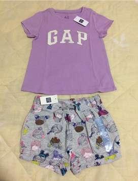 Conjunto baby gap talla 4