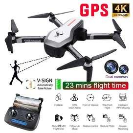 Drones Sg906 Beast 4k Dual Camara Gps Y Plegable