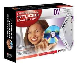 Capturadora Editor Profesional Pinnacle Studio Moviebox Dv En Caja