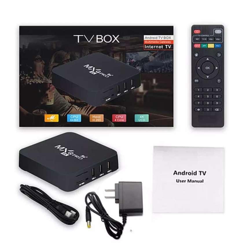TV BOX 4GB RAM - 64GB ALMACENAMIENTO ANDROID 10.1