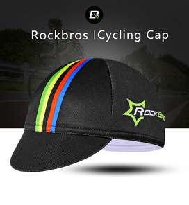 Rockbros Gorra Ciclismo Transpirable Para Casco Mtb O Ruta NEGRA O BLANCA NUEVAS!