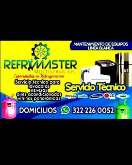 Técnico neveras lavadoras y aires acondicionados