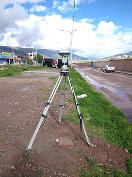 Levantamiento topografico, fotogrametria, puntos geodesicos, estacion total, gps y drone
