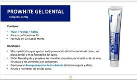 Crema dental blaqueadora - Gel Dental