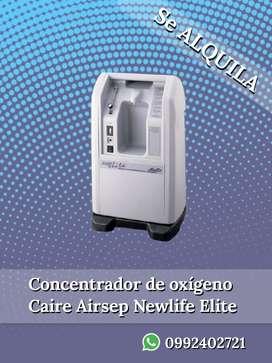 Se ALQUILA Concentrador de oxígeno Caire Airsep NewLife Elite
