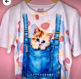 Hermosas camisas personalizadas