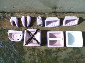 Accesorios Baño Set Kit Ceramica classic