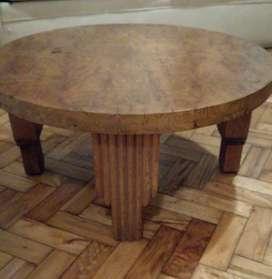 Mesa ratona Art Decó. Usada