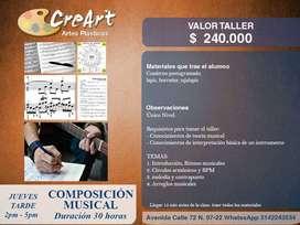 Taller Composición Musical