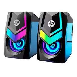 Parlantes Gamer HP DHE 6000 BLACK