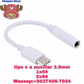 Cable tipo C a Jack 3.5mm