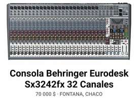 Consola Behringer!!