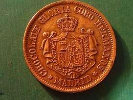 Ficha Chocolate Gloria Cobo Hermanos Madrid S.XIX