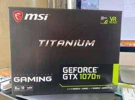 Geforce Gtx 1070 Ti Titanium 8 Gb Msi