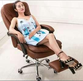 Sillón de oficina BIG BOSS con masajeador 100% Nuevo colores café y negro