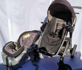 cochecito de bebe graco signature con huevito  incluye:  cubre pies protector de lluvia (para ambos)