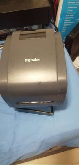 Vendo impresora de códigos de barras
