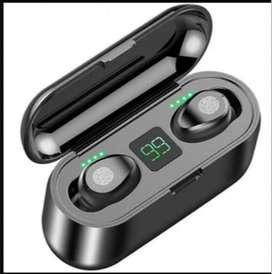 Audífonos inalámbricos F9 Bluetooth