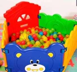 Corral Cerco Armable De Osito estimulacion temprana bebe niño educativo didactico juegos