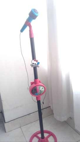 microfono karaoke Usado en perfecto estado