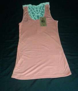 Musculosa Morley Coral