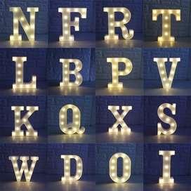 Lámparas De Letras